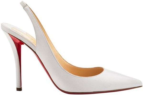 "Christian Louboutin ""Apostrophy Sling"" Pump"