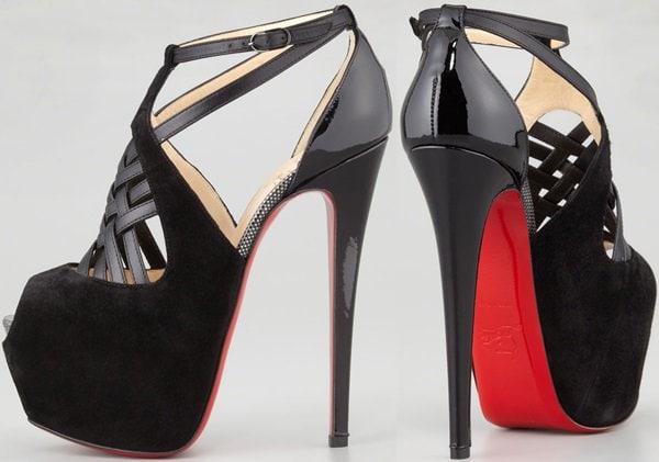 Christian Louboutin Carlota Shoes in Black