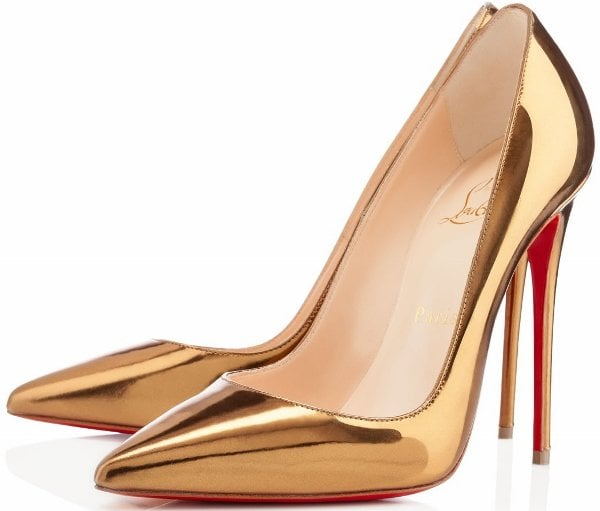 "Christian Louboutin ""So Kate"" Pumps in Bronze"