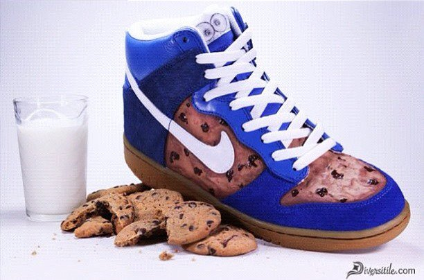 Custom-Designed Cookie Monster Nike Dunks by Diversitile