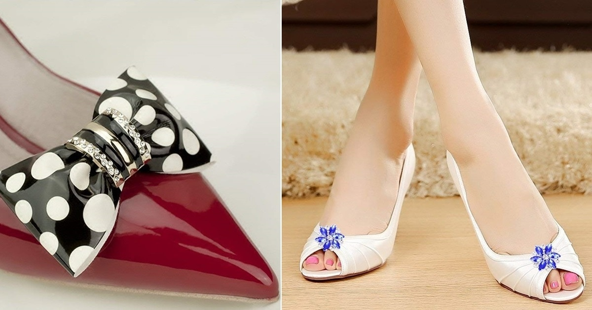 12 Decorative Shoe Clips You Ll Want On All Your Shoes