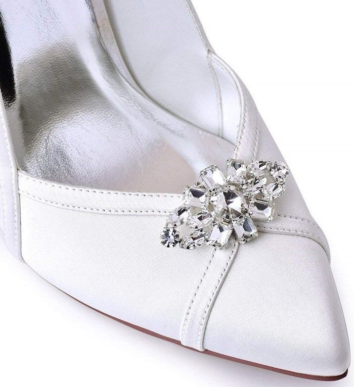 Decorative Rhinestone Shoe Clips