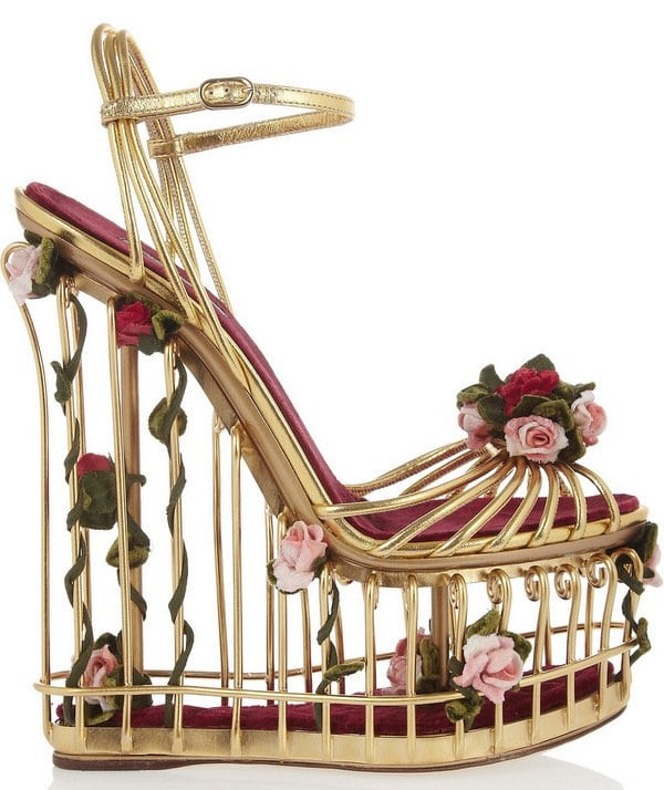 Dolce and Gabbana Cage Sandals