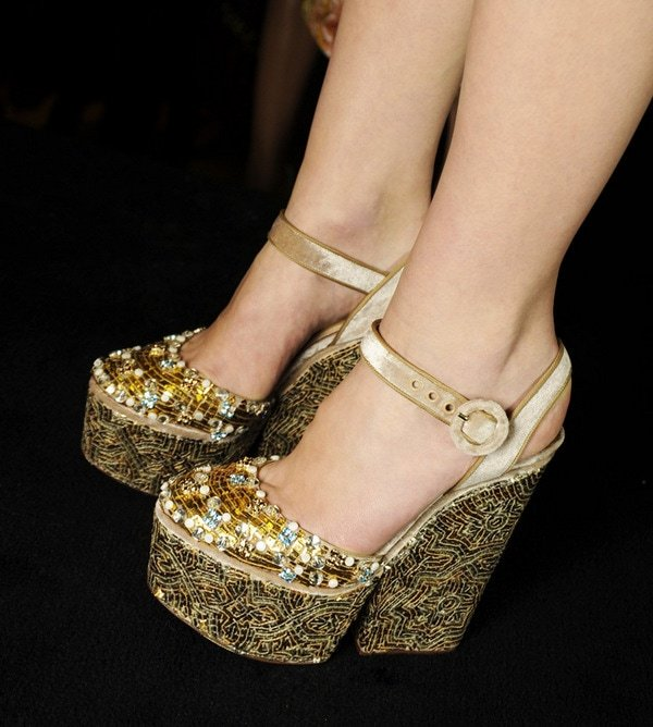 Dolce and Gabbana Fall Winter 2014 Shoes