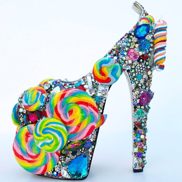 Candy-Themed Heels