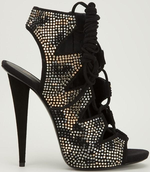 Giuseppe Zanotti Studded Sandal Side