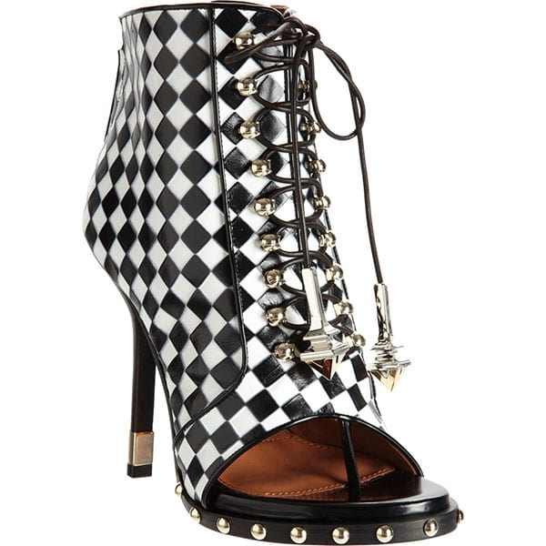 Givenchy Check Embossed Boots