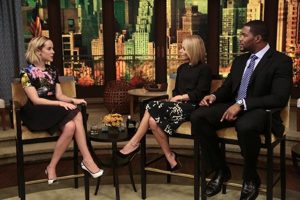 Jena Malone appearing on LIVE with Kelly and Michael