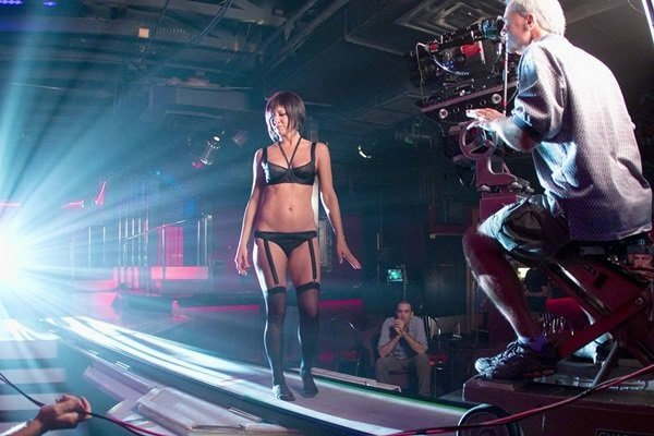 Jennifer Aniston behind-the-scenes photos 2