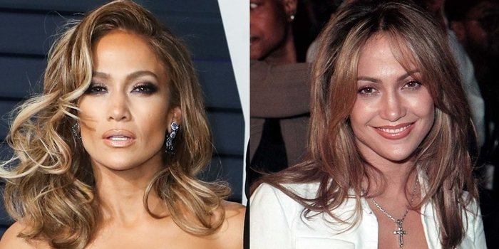 Jennifer Lopez before and after possible plastic surgery