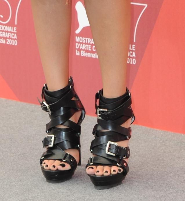 Jessica Alba's Michael Kors gladiator heels
