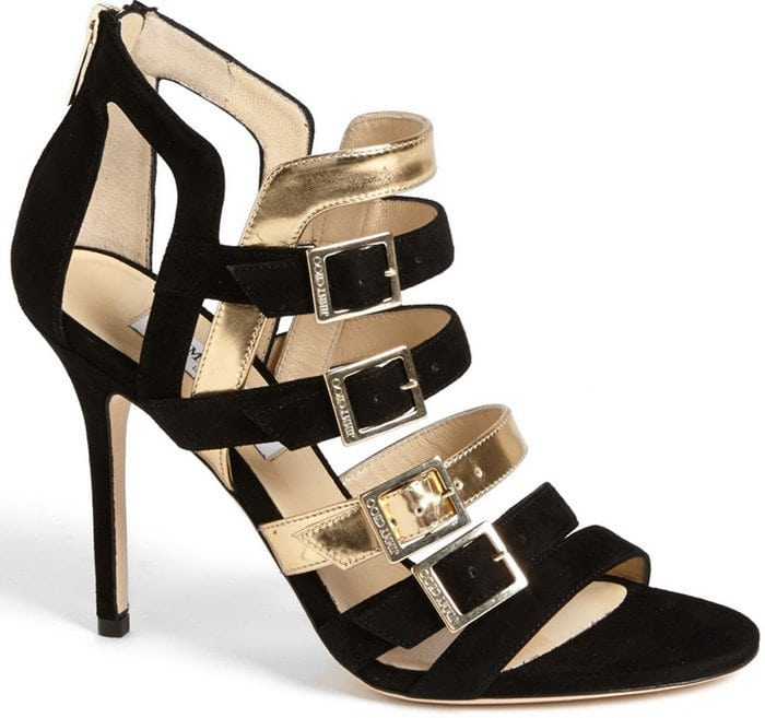Jimmy Choo Bronx Buckled-Strap Sandal