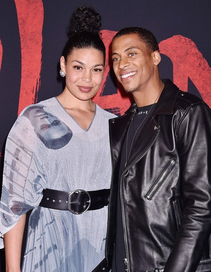"Jordin Sparks was joined by her husband Dana Isaiah at the premiere of Disney's ""Mulan"""