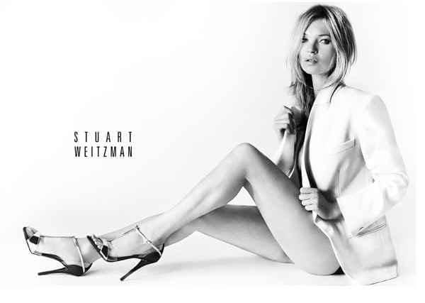 Kate Moss in Stuart Weitzman Sincity