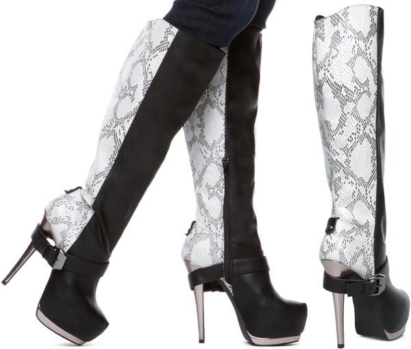 'Kaydian' Knee-High Boots