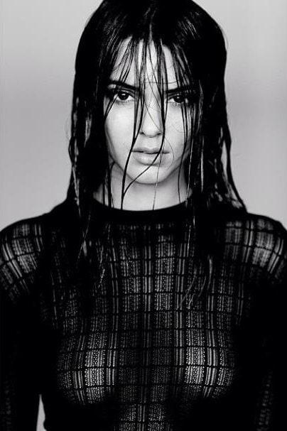Kendall Jenner Sheer