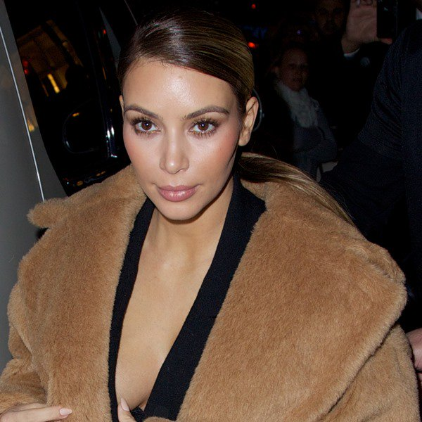 Kim Kardashian seen leaving Bergdorf Goodman
