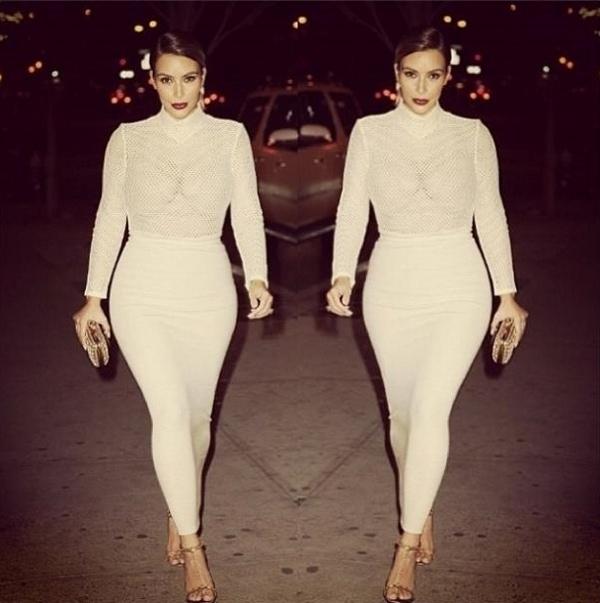 Kim Kardashian Tom Ford Heels