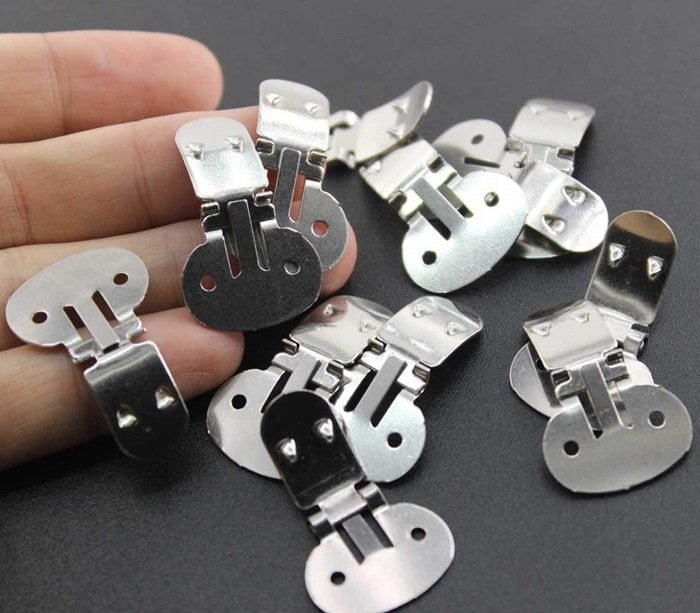 Large Stainless Steel DYI Shoe Clips