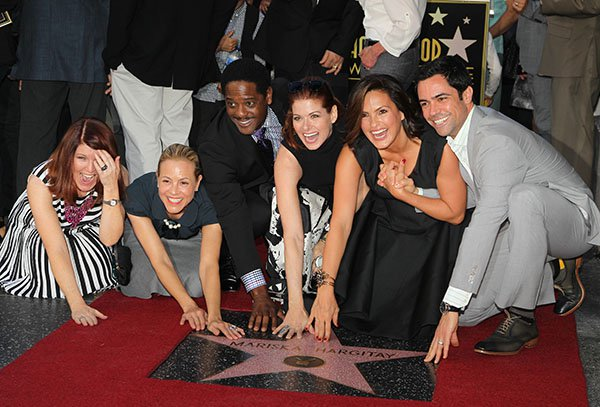 Mariska Hargitay Honored On The Hollywood Walk Of Fame