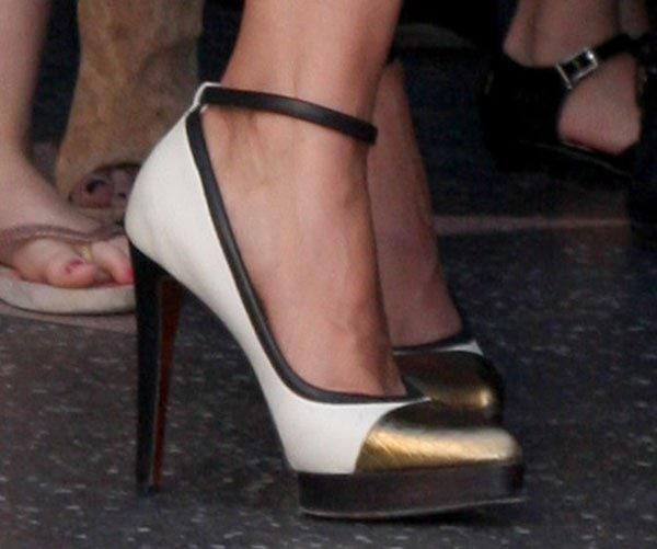 Mariska Hargitay Walk of Fame Star Ceremony