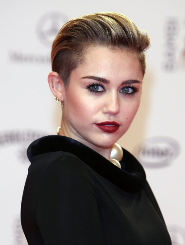 Miley Cyrus attends the Bambi Awards 2013 at Stage Theater on November 14, 2013, in Berlin, Germany