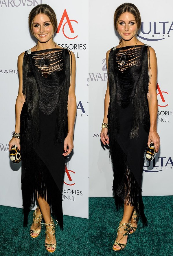 Olivia Palermo attends the 17th Annual Accessories Council Excellence Awards