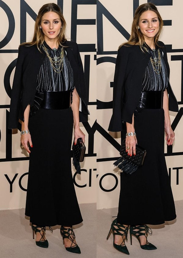 """Olivia Palermo attends the Giorgio Armani """"One Night Only"""" event"""