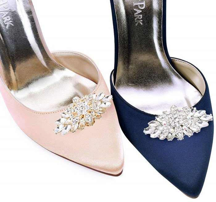 Rhinestone Wedding Party Shoe Clips