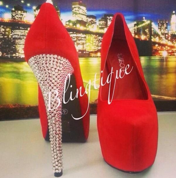 'Ruby Red Heels