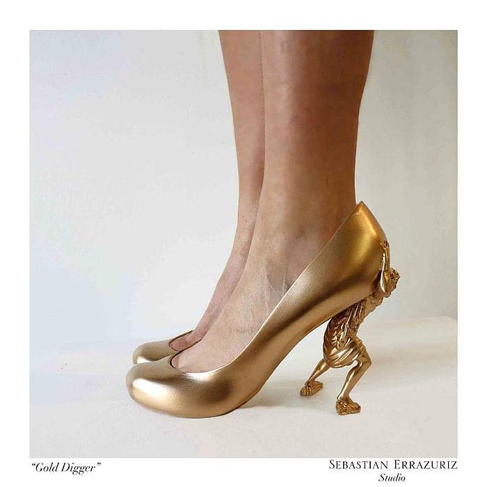 Sebastian Errazuriz 12 Shoes Lovers Gold Digger 3