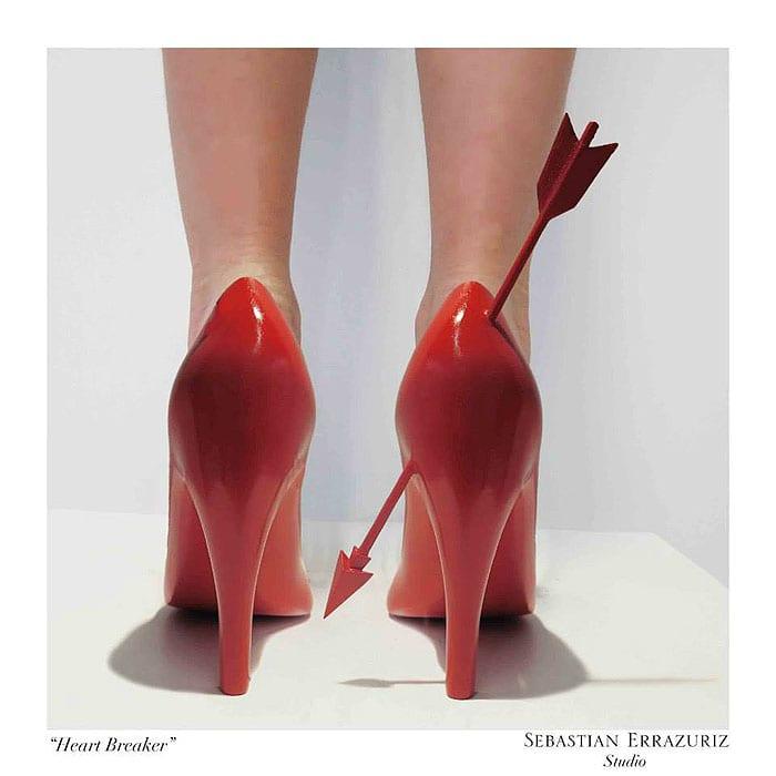 Sebastian Errazuriz 12 Shoes Lovers Heart Breaker 4