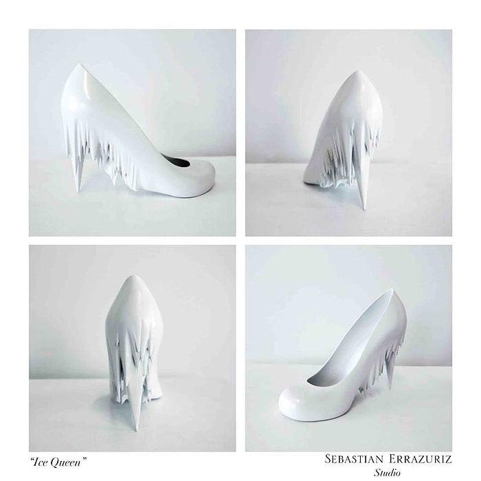 Sebastian Errazuriz 12 Shoes Lovers Ice Queen