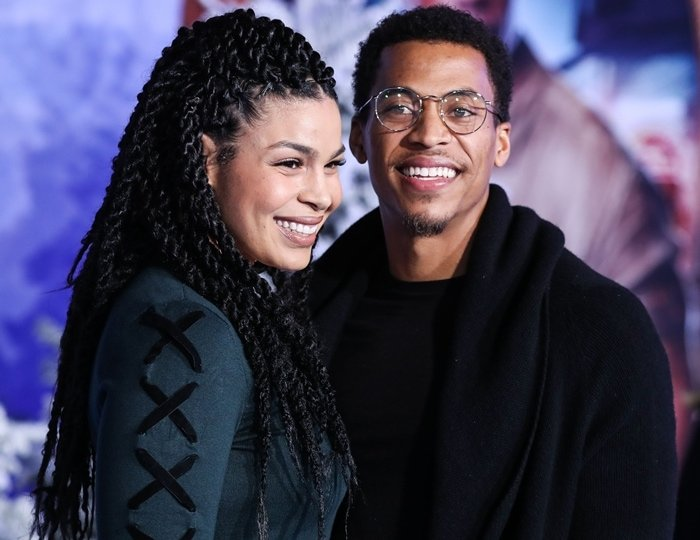 Singer Jordin Sparks and her husband Dana Isaiah arrive at the World Premiere Of Columbia Pictures' 'Jumanji: The Next Level'