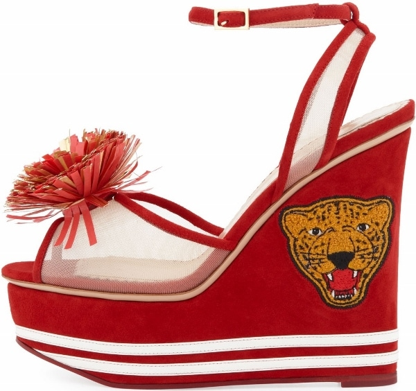 Team Spirit Wedge Sandal