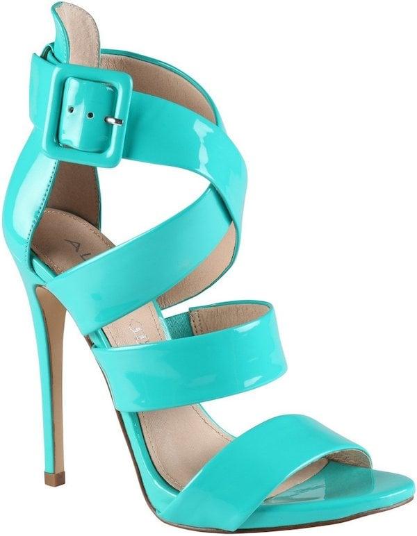 """Aldo """"Alvara"""" Sandal in Turquoise"""