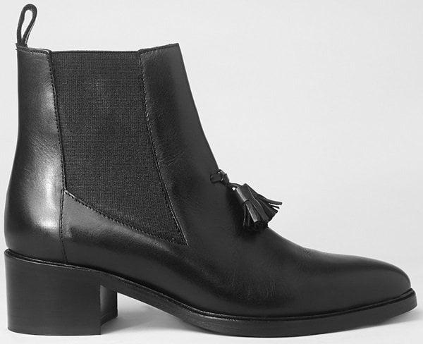 AllSaints Kiss Tassel Chelsea Boots