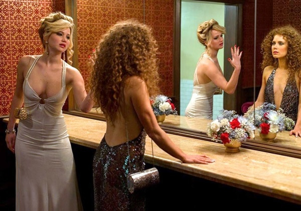 Jennifer Lawrence and Amy Adams getting catty in 'American Hustle'