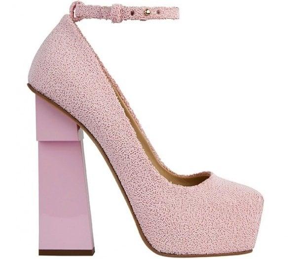 """Aperlai """"Geisha Doll"""" Pump in Pink"""