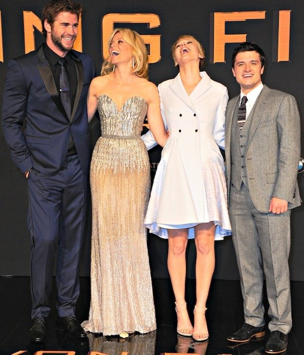 The Hunger Games: Catching Fire cast
