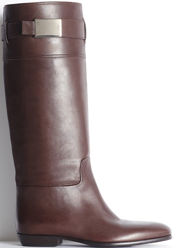 Christian Dior Brown Leather Boot