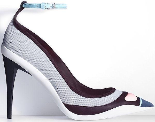Christian Dior Pump in Prune Leather