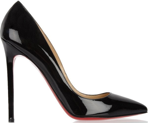 """Christian Louboutin """"Pigalle"""" Pumps in Black"""