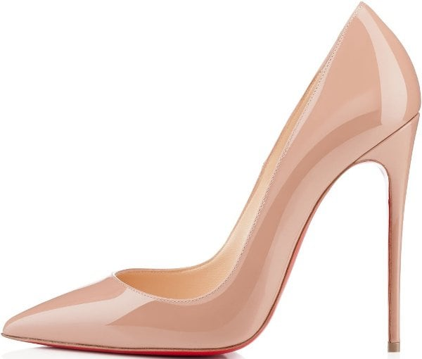 "Christian Louboutin ""So Kate"" Pump in Nude"