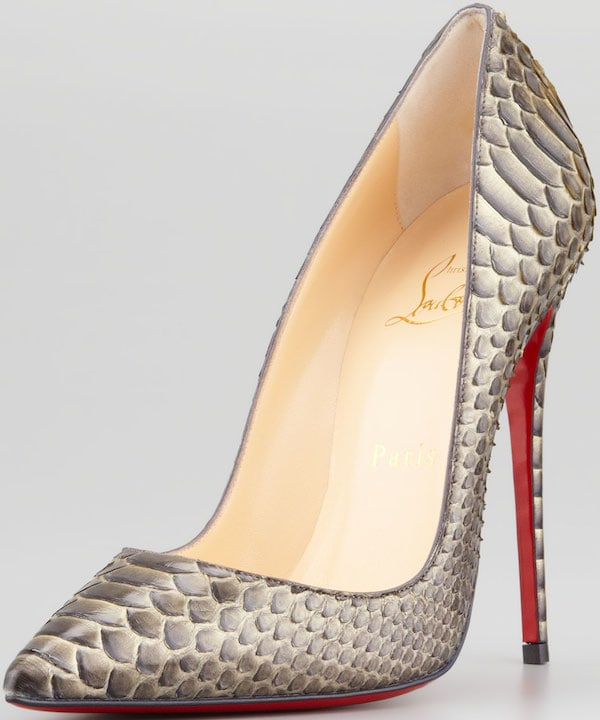 "Christian Louboutin ""So Kate"" Python Pump"