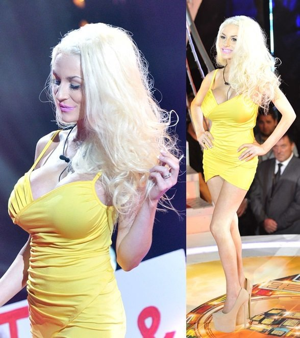 Courtney Stodden attends the Celebrity Big Brother Launch