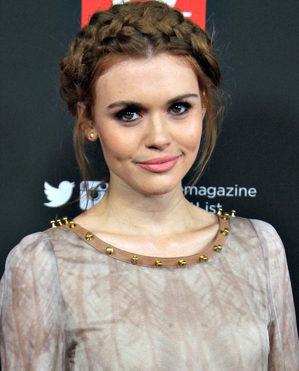 Holland Roden with smoky eyes atTV Guide Magazine's Hot List Party