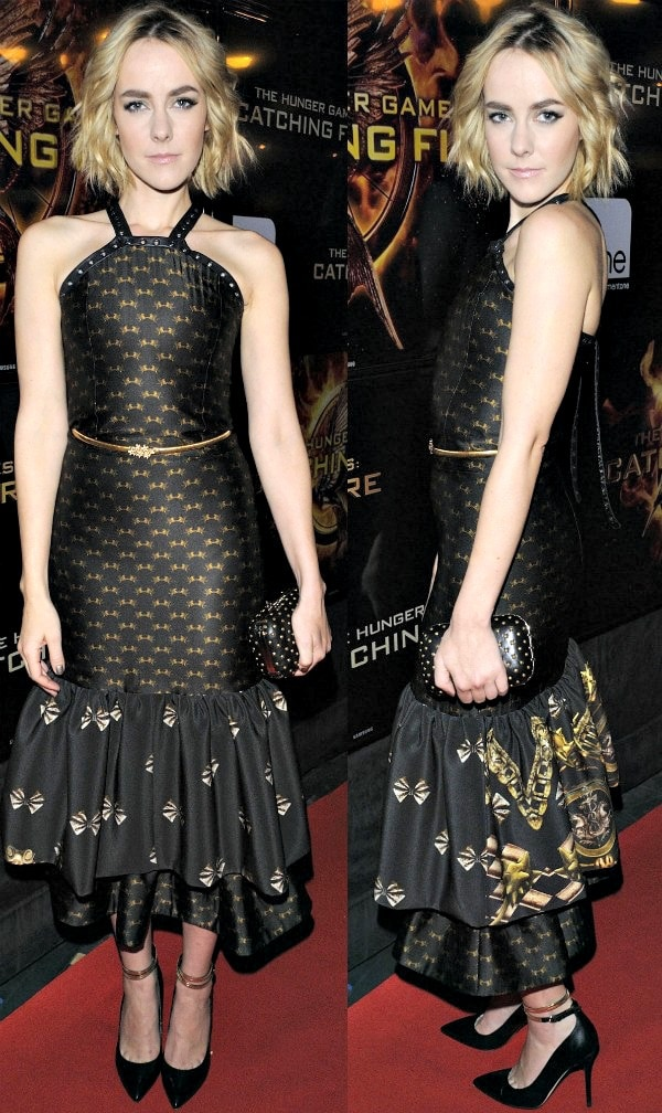 Jena Malone at the premiere ofThe Hunger Games: Catching Fireat Scotiabank Theatre in Toronto, Canada, on November 19, 2013
