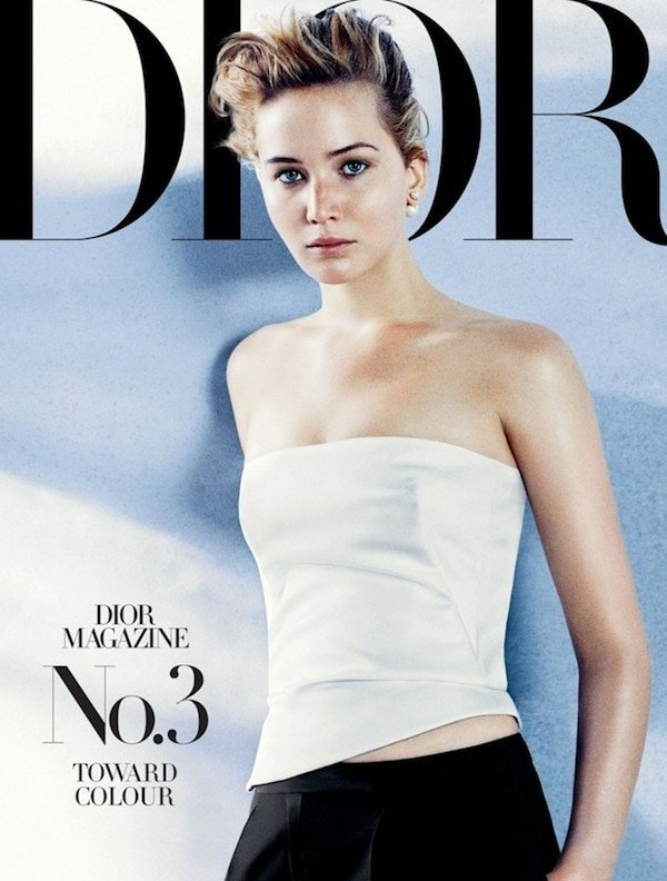 Jennifer Lawrence for Dior Magazine FW13