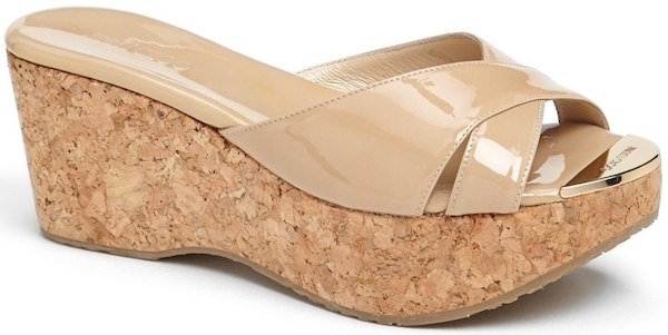 "Jimmy Choo ""Prima"" Platform Sandal"